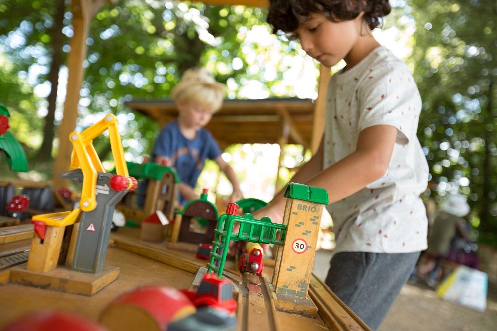Les Petits Trains de Seilhac ©Malika Turin
