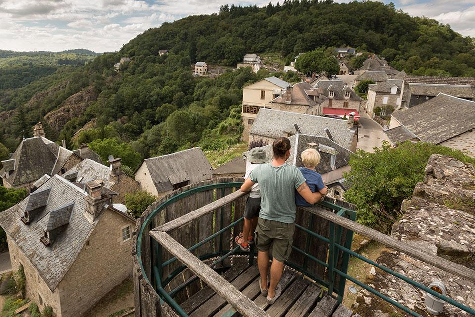 Village de Gimel-les-Cascades ©Malika Turin