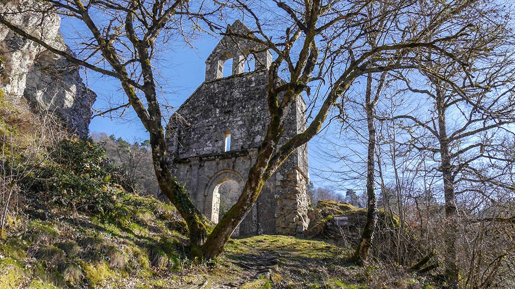 Eglise St-Etienne de Braguse - Gimel-les-Cascades