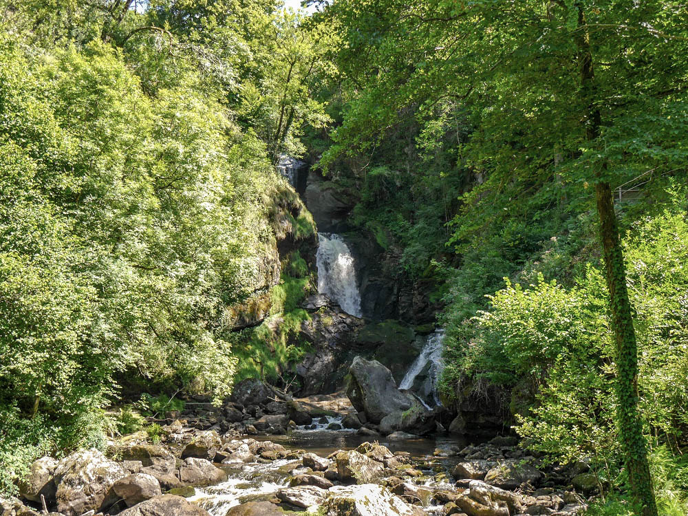Les Cascades de Gimel ©OT Tulle en Corrèze