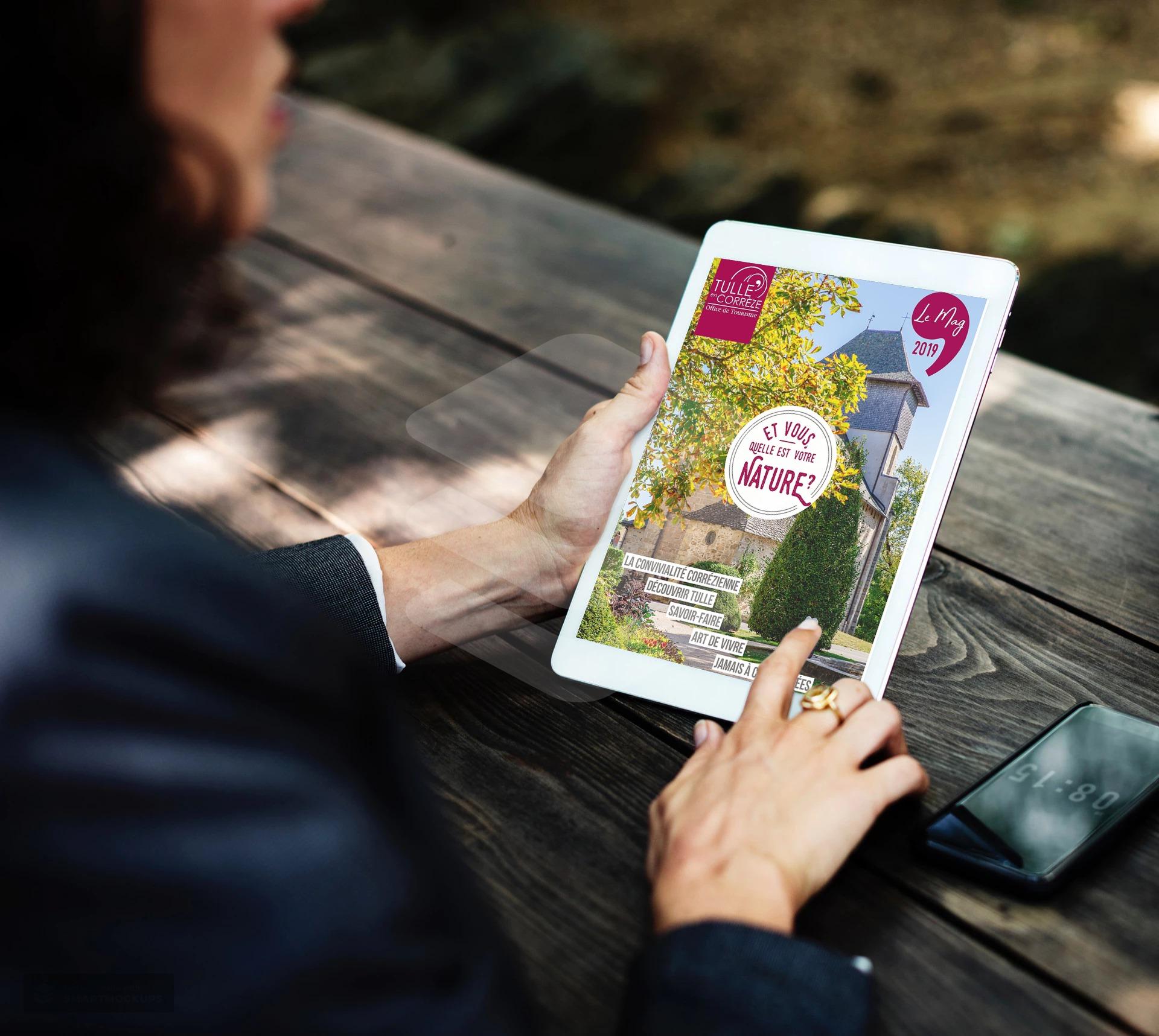 Magazine touristique de Tulle en Corrèze