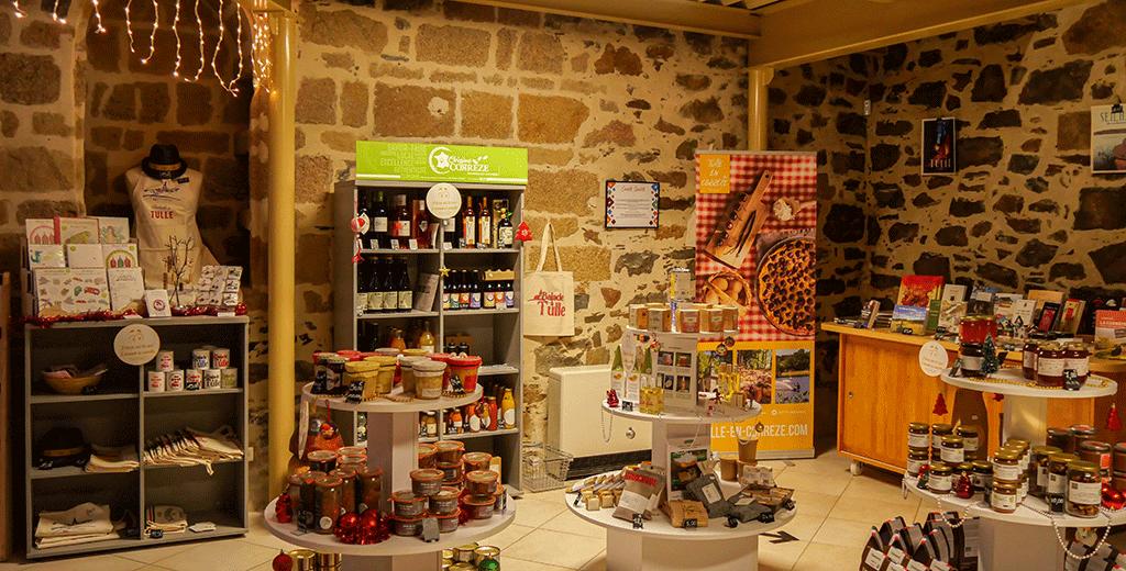 Boutique ©OT Tulle en Corrèze