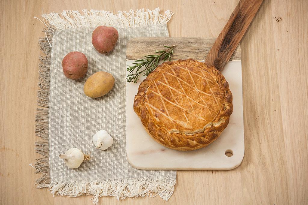 Nos autres recettes corréziennes - Pâté de pommes de terre ©Malika Turin