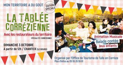 Mon territoire a du goût se lance dans une édition culinaire inédite : La Tablée Corrézienne !