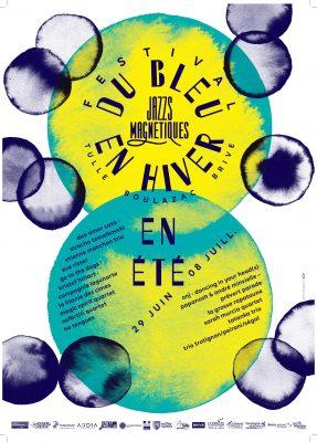 Affiche Festival du Bleu en Hiver