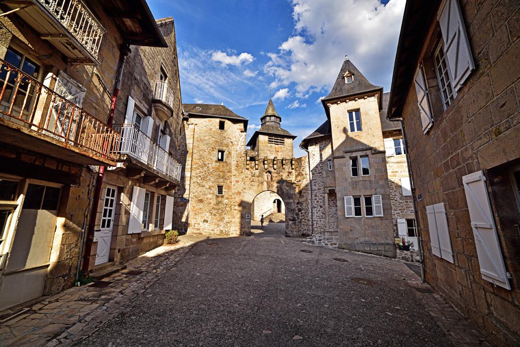 Corrèze, cité médiévale